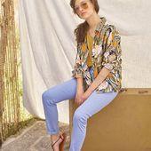 NOUVELLE COLLECTION ÉTÉ 2021🤩 - Chemise @lepetit_baigneur   #fashion #mode #rennesmaville #commerçant #bloggerstyle #boutiquemode #lookdujour #lookoftheday #inspiration #ootd #outfit #chemise #fantaisie #vert #orange #lavande #ecru #pastel #lepetitbaigneur #nouvellecollection #carrerennais #printemps2021 #ete2021